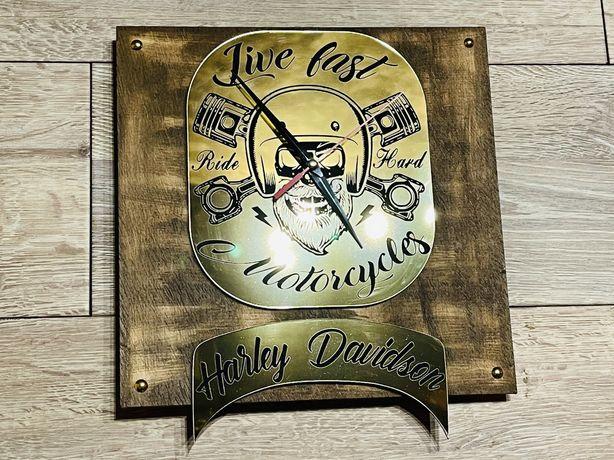 Relógio de parede Harley Davidson suzuki honda bmw cafe racer