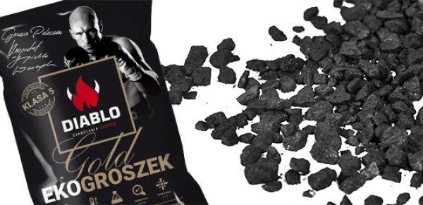 Ekogroszek Diablo GOLD / 28 MJ/kg / Najwyższa jakość / Ozorków