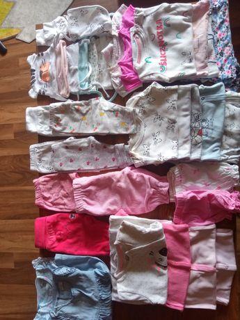 Paka ubrań dla dziewczynki 56 , 62