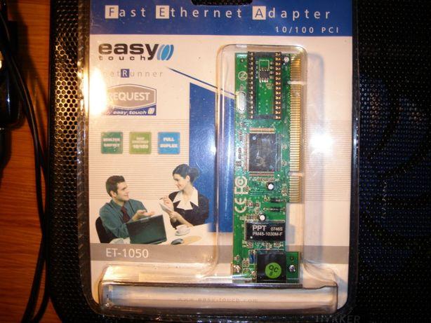 Karta sieciowa do komputera stacjonarnego ET-1050 Easy Touch NOWA