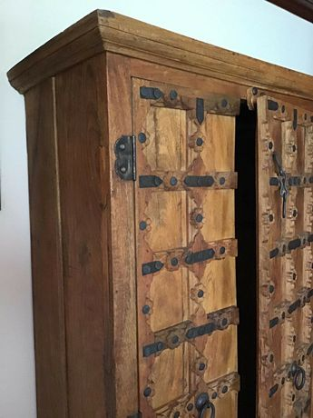 armário,  roupeiro, vintage, indiano, rustico
