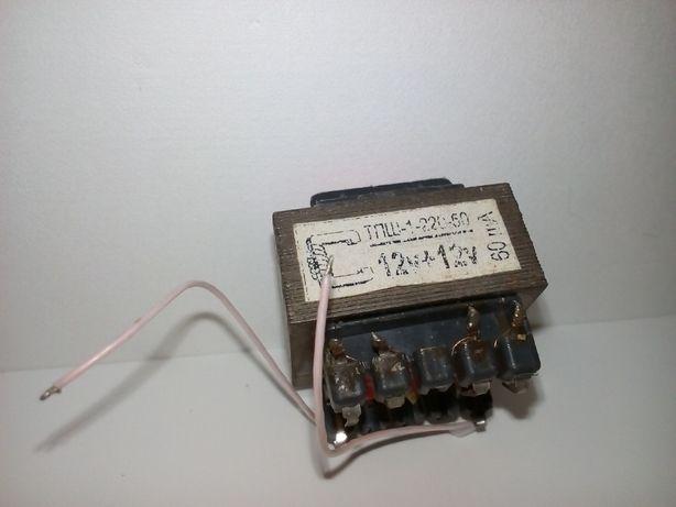 маломощный трансформатор ТПШ-1-220-50 12V 60mAh (1 шт.)