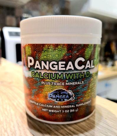 Pangea - wapń z d3, dla gekon orzęsiony, gady, jaszczurki, kameleon