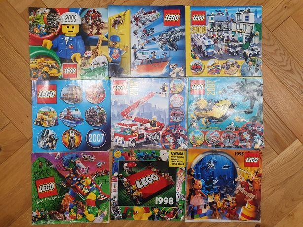 Katalog LEGO 2009, 2008, 2007, 1999, 1998, 1995