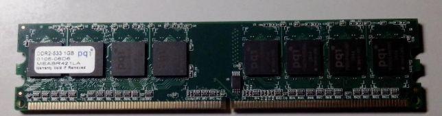 Оперативная память 1Gb DDR2 Две планки
