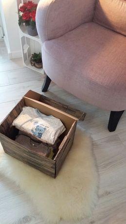 Pudełko z ciuszkami paka od 0-3 miesięcy