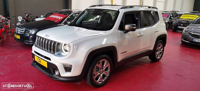 Jeep Renegade LIMITED 1.3 TURBO 150cv 4X2 DCT