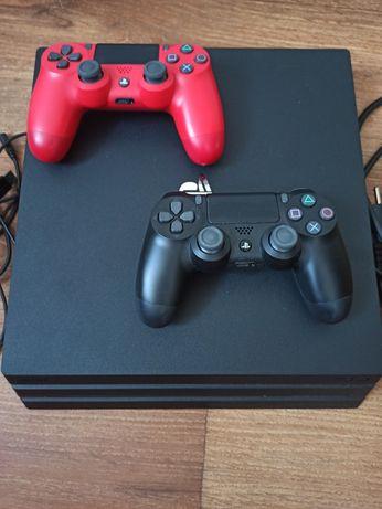 Playstation 4 Pro + доп. геймпад + аккаунт