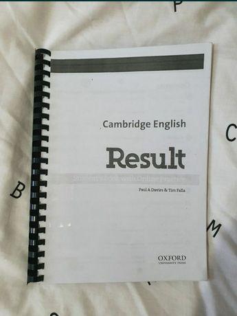 Cambridge English Results Oxford podręcznik z ćwiczeniami angielski