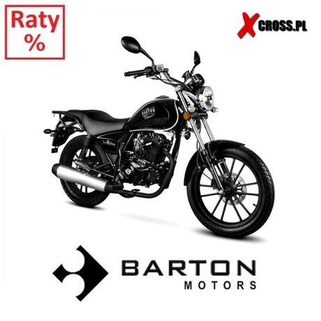 Motocykl Barton Classic 125 Soft Chopper RATY 0% Dostawa