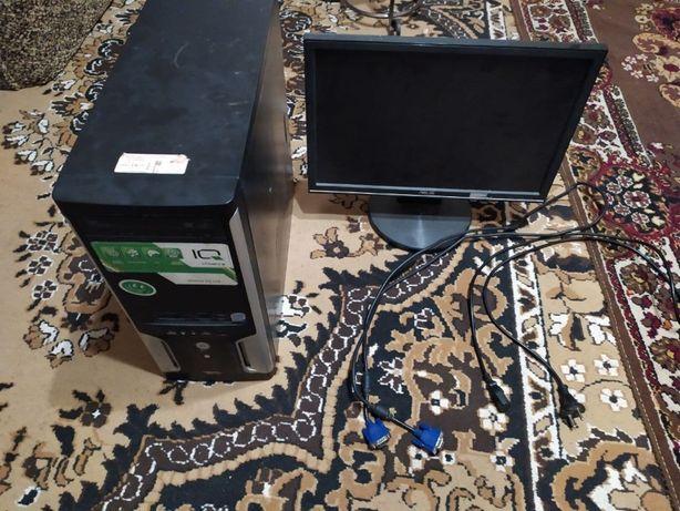системний блок с монитором