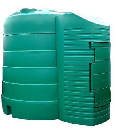 Zbiornik na ropę paliwo 5000L dwupłaszczowy STACJA CPN