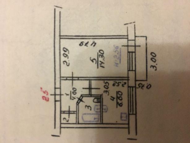 Сдам 1-комнатную квартиру на Новом микрорайоне