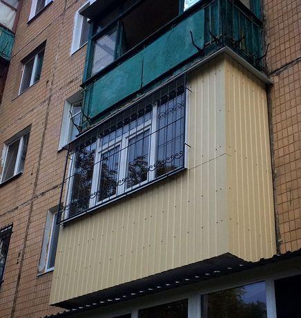 Расширения балкона.Сварка каркаса,обшивка балкона.