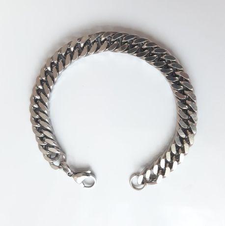Мужской браслет-цепочка из ювелирной (медицинской) стали 316L