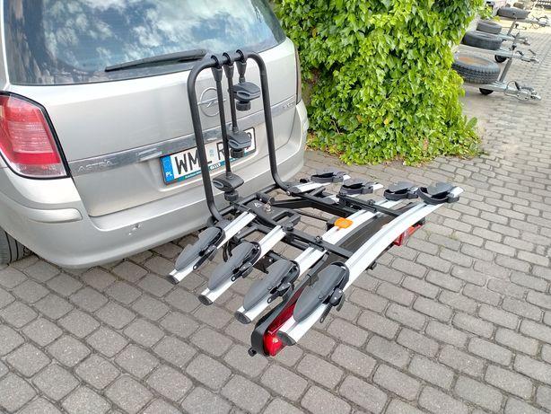 Bagażnik na 4 rowery