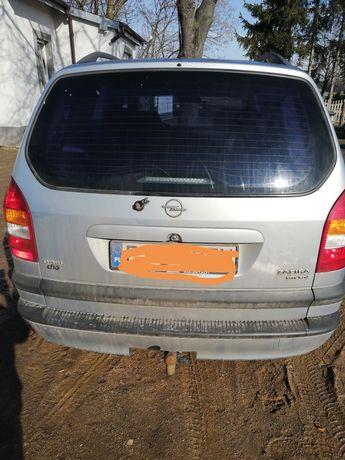 Zderzak tylny Opel Zafira A z151