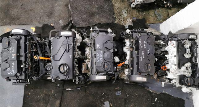 Мотор Двигатель Caddy Touran Passat b6 Fabia 2 Кадди Тауран Пассат Б6