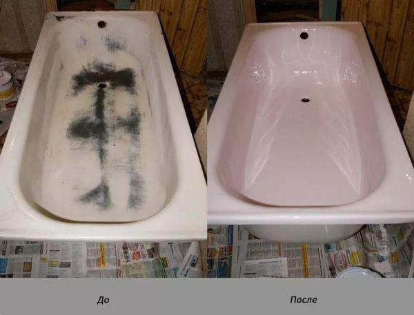 Реставрация ванн (Эмалировка, Наливная ванна)
