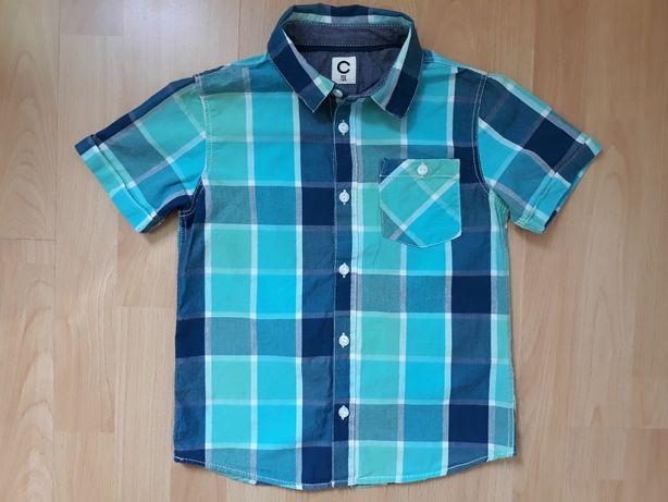 CUBUS koszula krótki rękaw dla chłopca 122cm