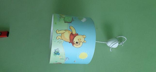 lampa wiszaca kubus puchatek