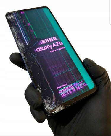 Samsung A21S M31s A20S M30S oryginalny wyświetlacz szybka wymiana gwar