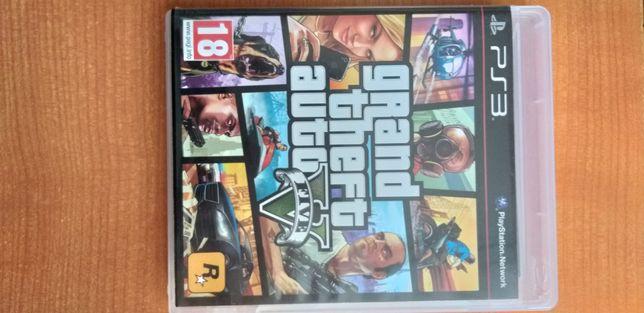 Grand Theft Auto V диск для PS 3