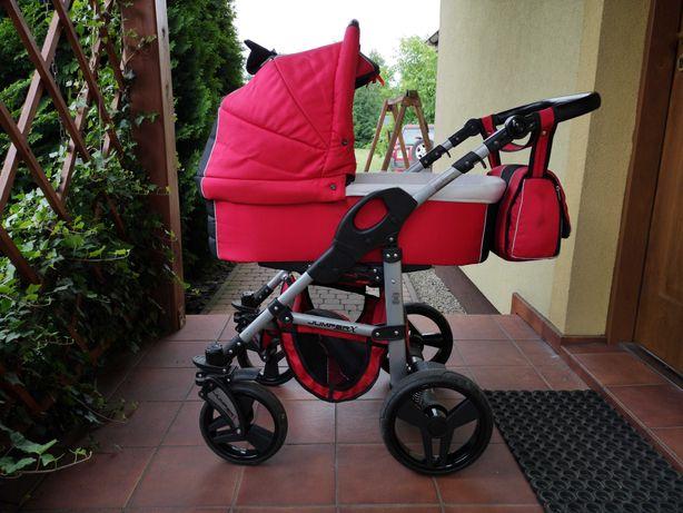 Wózek tako 3w1 czerwony