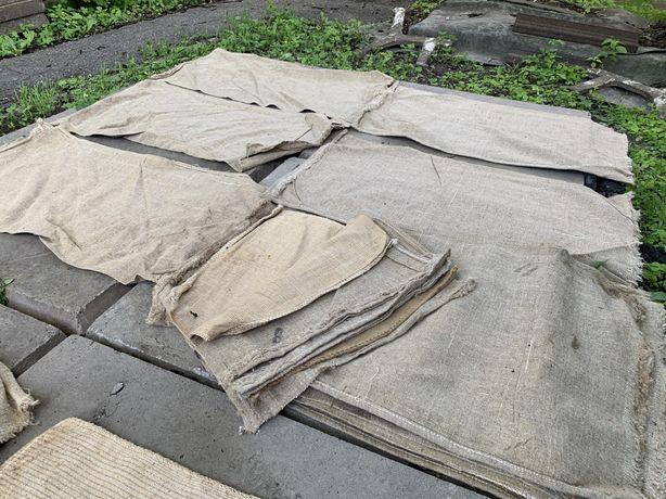 Продам новые лляные мешки в количестве 30 штук