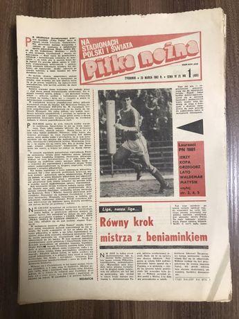 Tygodnik Piłka Nożna rocznik 1982 komplet