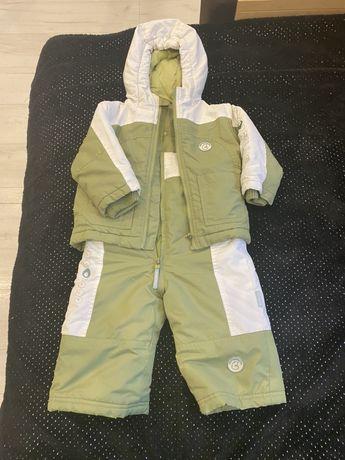 Kombinezon zimowy coccodrillo 80, dwuczęściowy, kurtka, spodnie