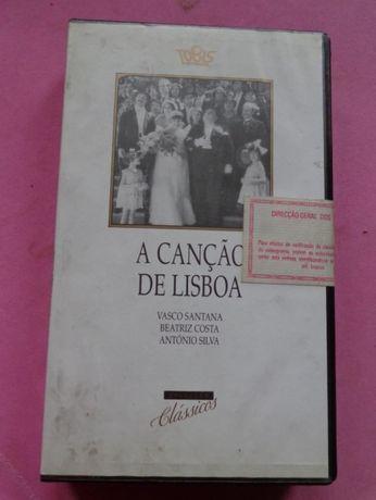 Video VHS A canção de Lisboa