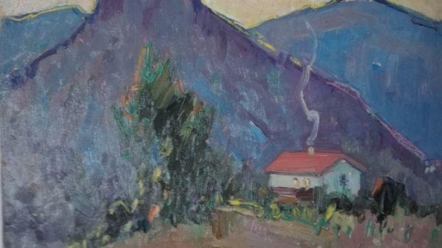 Охотничий домик в Крымских горах 1960г. К. И. Гусев