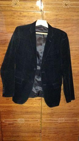 Пиджак вельветовый/брендовый/ Черный