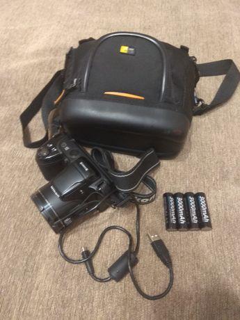 Фотоаппарат NIKON coolpix L810 + сумка+ 4 АКБ торг уместен