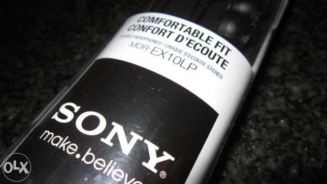 NOVO!!! - Sony Auricular MDREX-10LP Preto