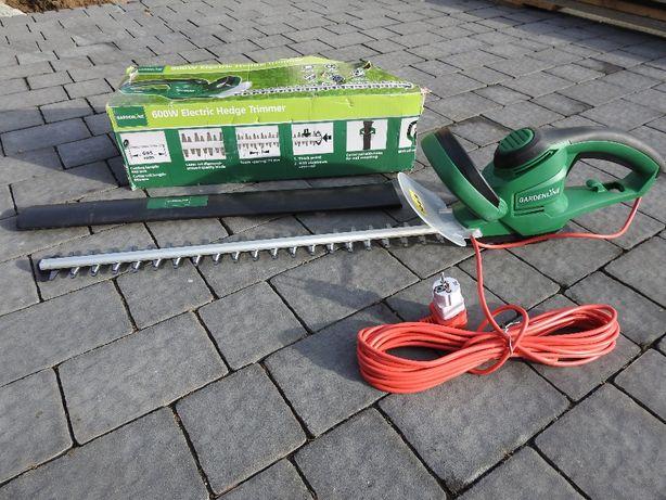 Elektryczne nożyce do żywopłotu, krzewów firmy Garden Line, sekator