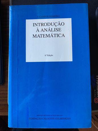 Livro Introdução à Análise Matemática