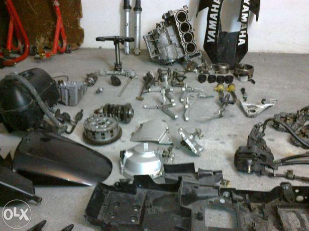 Peças motor yamaha r6 1999 a 2002