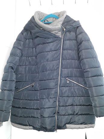 Ciepła zimowa kurtka rozmiar 4XL