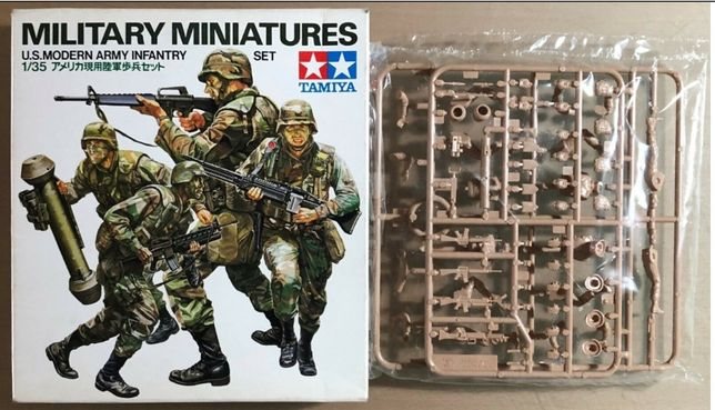 TAMIYA 35133 - modern army INFANTRY