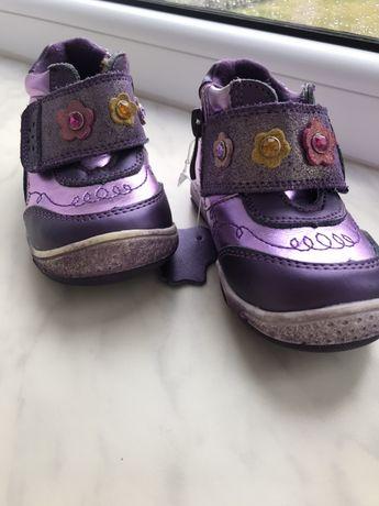 Черевички фіолетові
