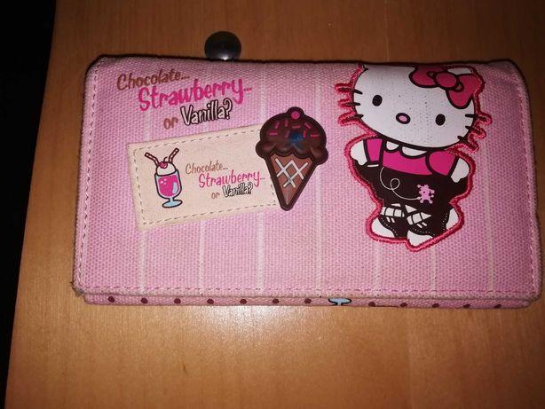 Carteira Hello Kitty- voltar com estilo para a escola