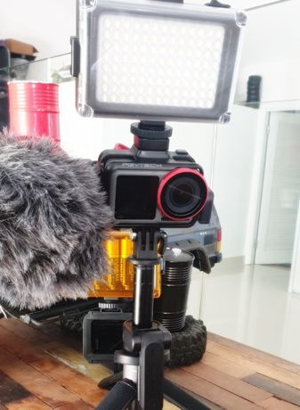 Moldura Vlog DJI Osmo Action - Novo - PGYTech - Portes Grátis