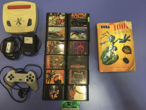 Игровая приставка Sega Mega Drive X