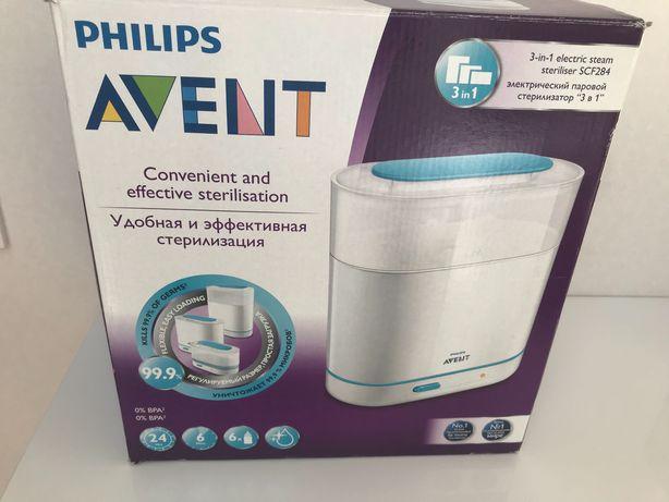 Электрический паровой стерилизатор Philips Avent 3 в 1