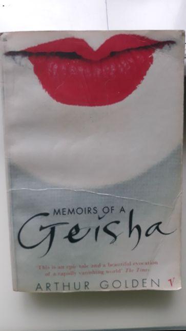 memoris of a geisha, wyznania geiszy, Arthur Golden, po angielsku