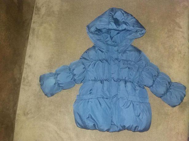 Куртка Zara 74 демисезонная теплая