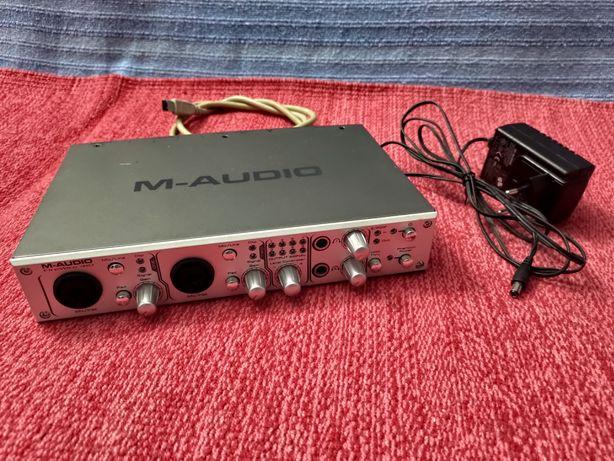 M-Audio Firewire 410 (Áudio/Midi Interface)