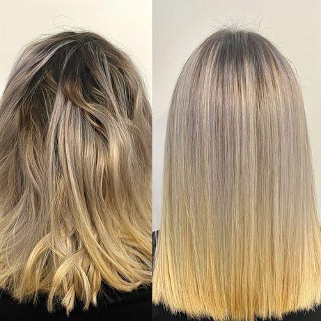 Botox, Keratyno-botox, kuracja żelatynowa Pielęgnacja włosów !
